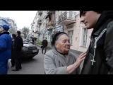 ХИТ!!! Просветленная бабуся учит бандеровского недоросля жизни))